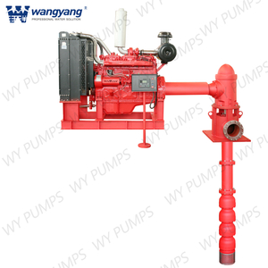 Engine Driven Vertical Turbine Pump for Fire Fighting