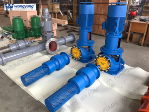 Electrical Water Lubricated Single Stage Vertical Turbine Pump